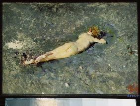 Acto de mujer en el agua Mariano Fortuny