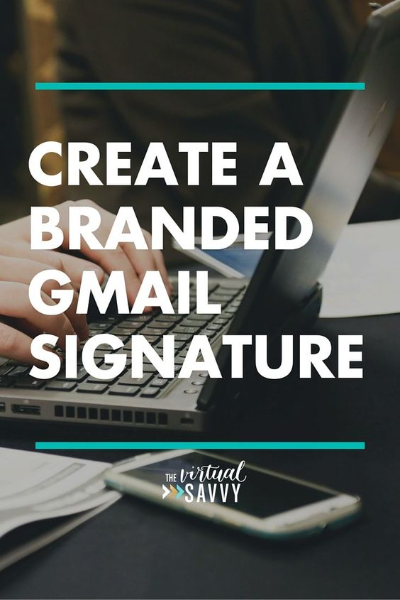 Create a Branded Gmail Signature | Posts and The o'jays