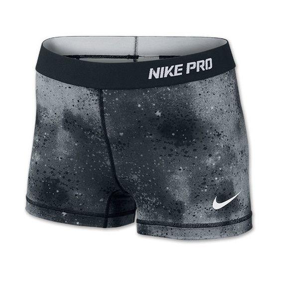 "Women's Nike Pro Core 2.5"" Print Running Shorts - Polyvore"