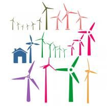 Wind Mill SVG Cuttable Designs