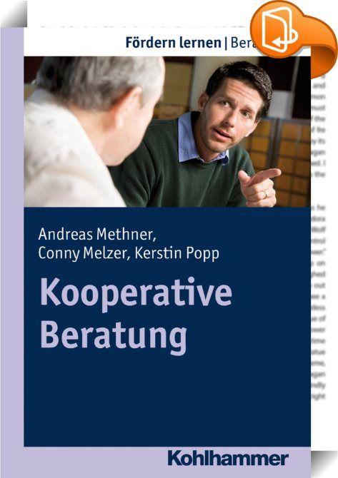 Kooperative Beratung    ::  Die Kooperative Beratung empfiehlt sich durch eine schlüssige Verbindung von Theorie und Praxis. Die Methode ist flexibel anwendbar und vor allem in ihrer Wirkung differenziert evaluiert. Vor allem im schulischen Alltag hat sich dieser Ansatz nicht nur bewährt; er ist leicht auf die schulischen Beratungs- und Gesprächsanlässe adaptierbar.  Tragende Säulen des Konzepts sind die vertrauensvolle, wertschätzende, problemverstehende Beziehung zur themeneinbringen...