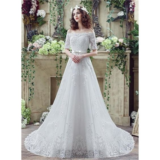 explore short lace wedding dress