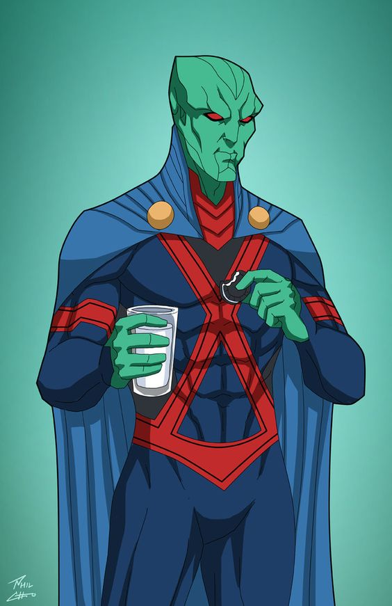 Martian Manhunter (Earth-27) commission by phil-cho on DeviantArt
