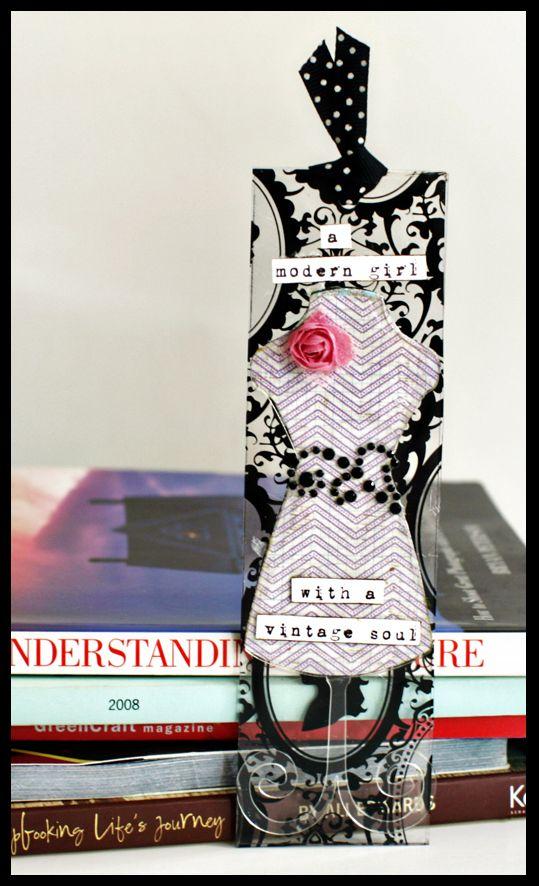 Dressform bookmark