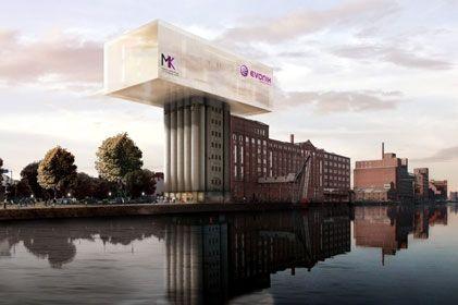 ERWEITERUNGSBAU Museum Küppersmühle Duisburg von Herzog & de Meuron   CYBERDAY