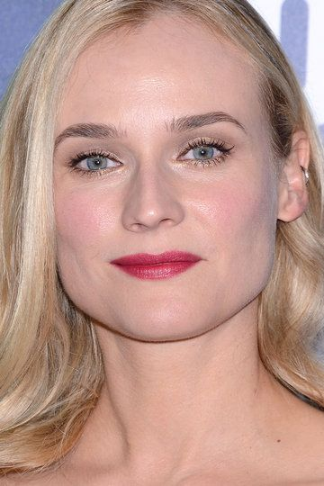 Haircut : cara rectangular de Diane Kruger