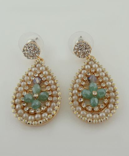 Ana Teardrop Pearl Earrings - LAVISHY Boutique