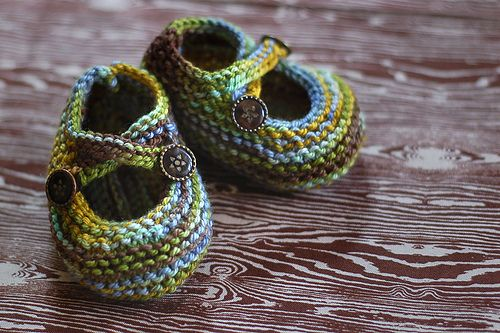 lovely baby booties