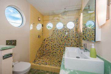 Mosaic Bathroom - tropical - bathroom - tampa - Strobel Design Build