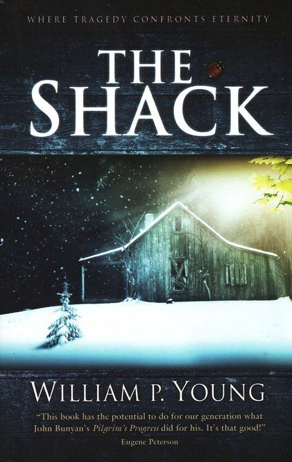 The Shack by William P Young -Originally self-published as a fictional faith memoir of sorts for his children, this book has made it to the bestseller's lists. Mr. Young makes you look at your brokenness and God's goodness from a new angle...: