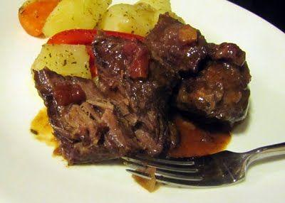 California Beef Stew with Zinfandel