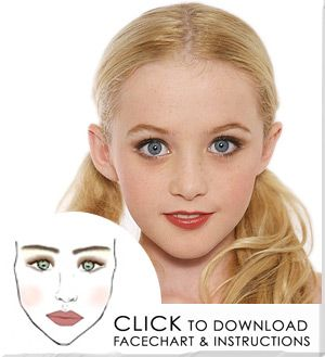 Stage makeup younger