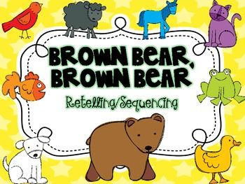 Brown Bear {Retelling and Sequencing}  Read To Self