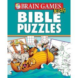 Brain Games for Kids: Bible Puzzles : Crossword Puzzles For Kids