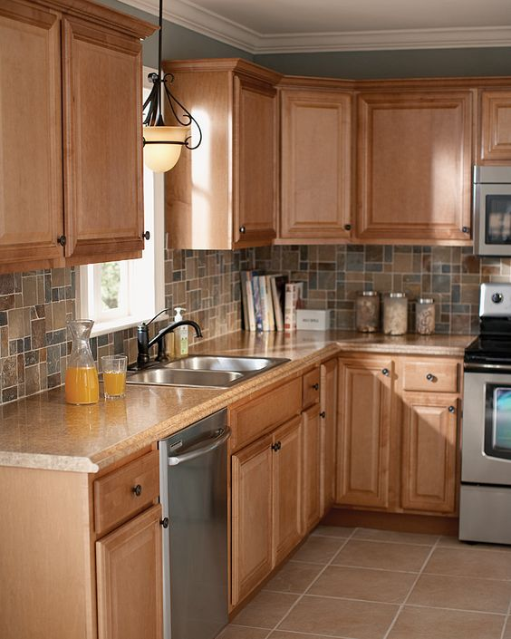 Light Oak Kitchen Cabinets: You Don't Have To Wait For Fine Cabinetry. The Home Depot