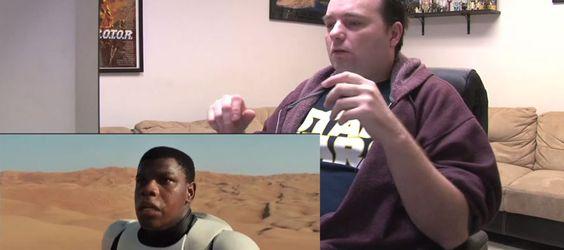 Le fan de Star Wars le plus dérange du monde réagit face au trailer de l'épisode VII : attention les yeux, les oreilles et l'âme !