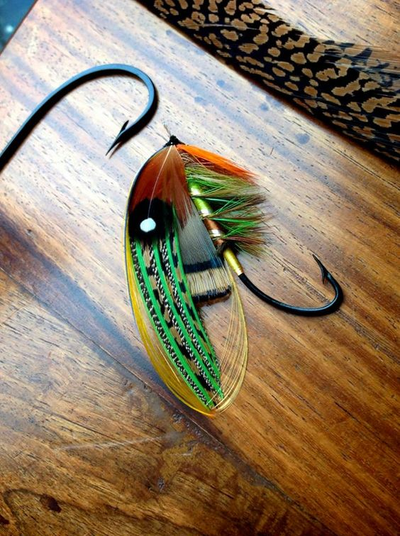By Stuart Hardy Classic and Artistic Salmon Flies