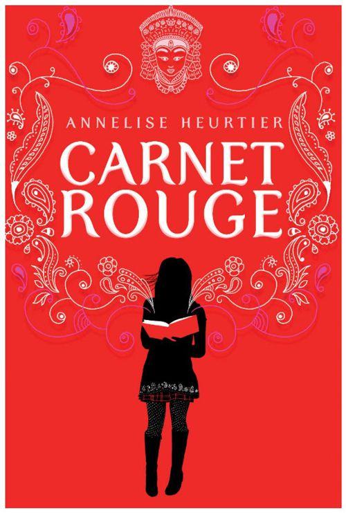 """Résultat de recherche d'images pour """"Le carnet rouge"""" d'Annelise Heurtier"""""""