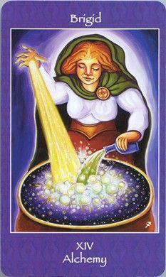 mythical goddess tarot: