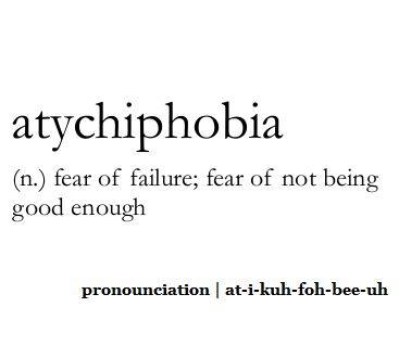 Need descriptive word decribing someone who gives up/scared of failing/being let down..?
