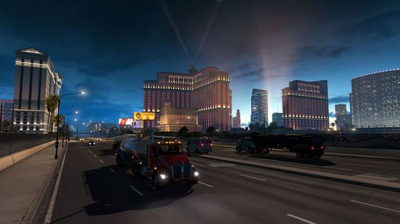 American Truck Simulator Game Pictures