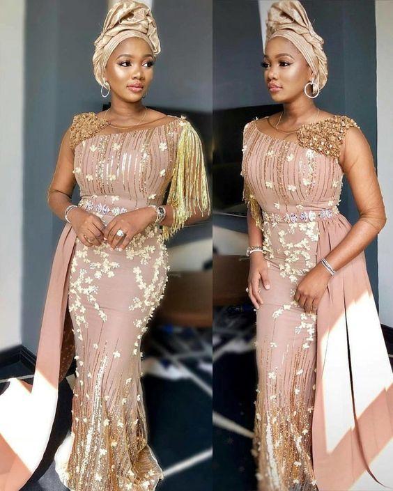 2019 Stunningly Beautiful Asoebi Styles