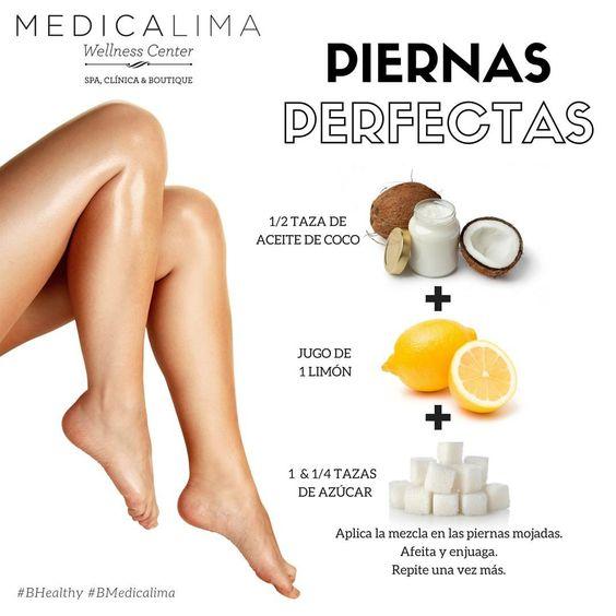 Elimina la celulitis y suaviza tus piernas con este exfoliante natural muy fácil de preparar. #BHealthy #BMedicaLima #PiernasPerfectas