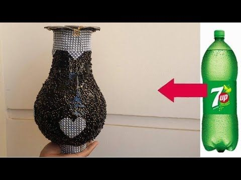 مشروع مربح جدا من لاشىء مشروع صغير لايعرفه احد مجموعه افكار مصريه كن مليونير بهذا المشروع Youtube Bottles Decoration Home Decor Bottle