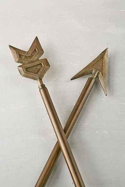 Bow & Arrow Finials | Bow arrows, Anthropologie and Arrows