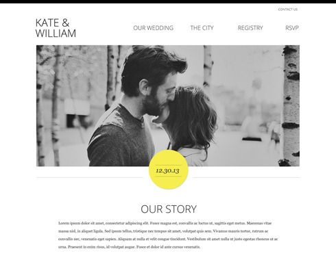 The 25 Best Personal Wedding Website Ideas On Pinterest Vows To Husband And Free Portfolio