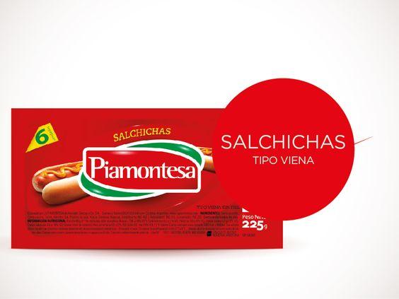 Salchichas Tipo Viena - Piamontesa