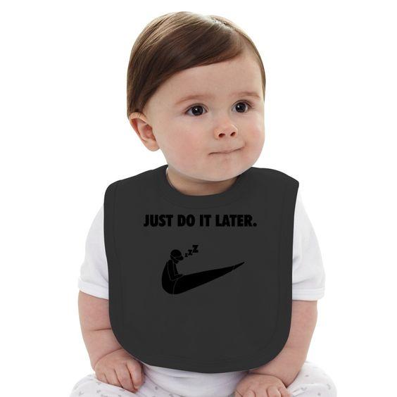 Just Do It Baby Bib