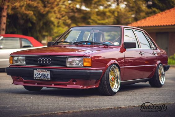 Audi Youngtimer.  _____________________ Photo: Autocrafts