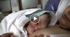 """Bebé Com 15 Minutos De Vida Diz """"Olá"""" Ao Seu Pai http://www.funco.biz/bebe-15-minutos-vida-diz-ola-ao-pai/"""