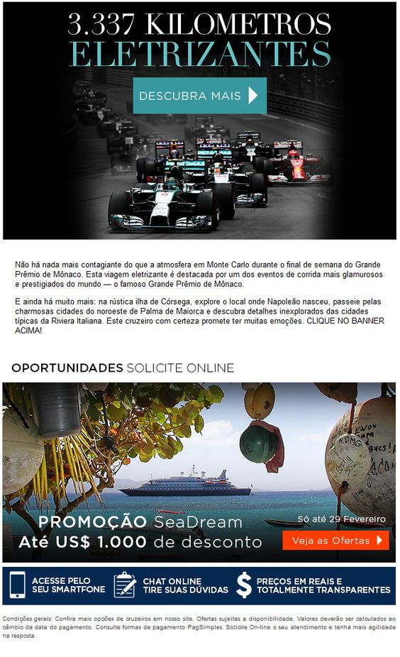 Formula 1 + Cruzeiros