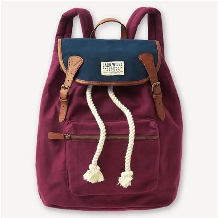 Penrose Backpack From Jack Wills #jackwills