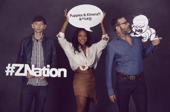 Ready for the #ZNationSDCC road trip! #Znation #SDCC2015