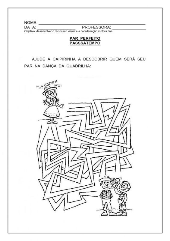 atividade matemática festa junina 19