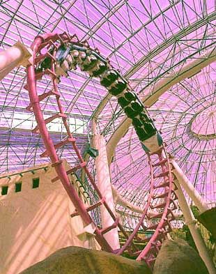 How roller coasters work activities in las vegas and for Paper roller coaster loop template