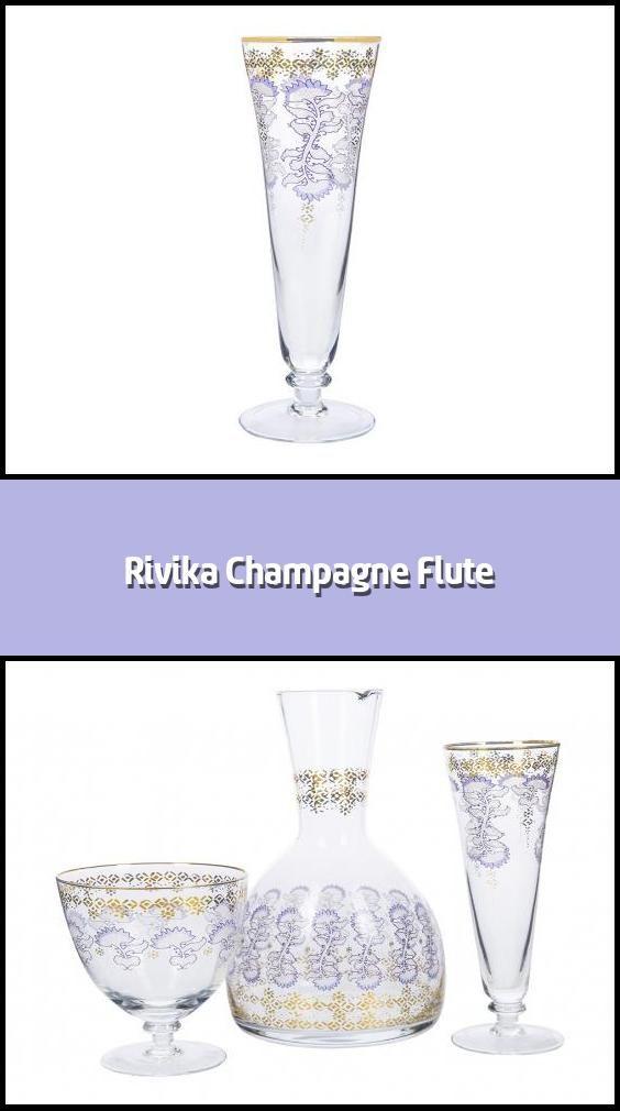 Rivika Champagne Flute Champagne Flute Material Glass
