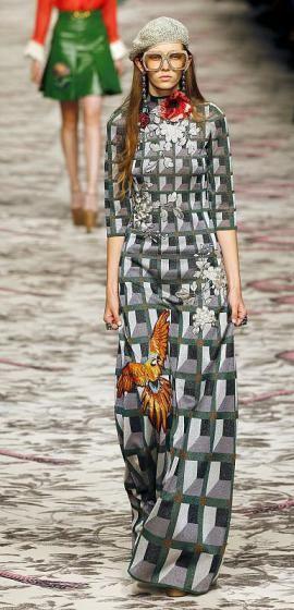 Modewoche Mailand - Gucci: ein Fest der Farben (Bild: Reuters)
