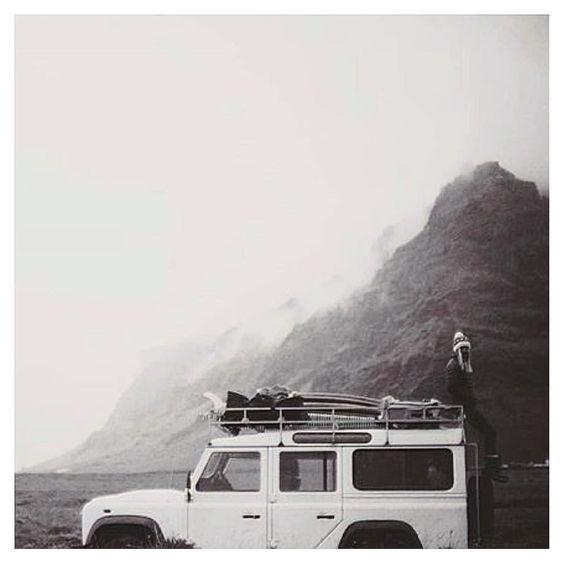 #surfersontheirway in Island via @chaddkonig  #landy by theseashirt