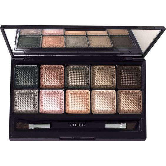 BY TERRY Eye Designer Palette 1 - Smoky Nude (£62) ❤ liked on Polyvore featuring beauty products, makeup, eye makeup, eyeshadow, beauty, eye shadow, colorless, palette eyeshadow, nude eyeshadow and by terry