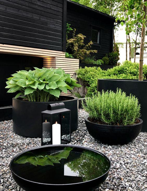 modernistyczny ogród