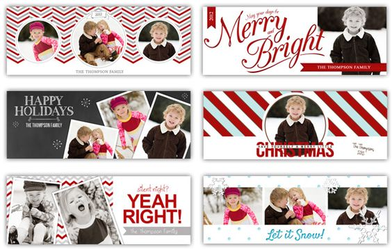 Super cute Christmas Timeline covers aaaaannnnndd so much more (business templates, collages, etc)
