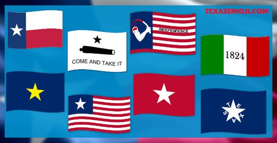 Want A Texas Flag Emoji Have Eight Of Them Flag Emoji Texas Flags Flag