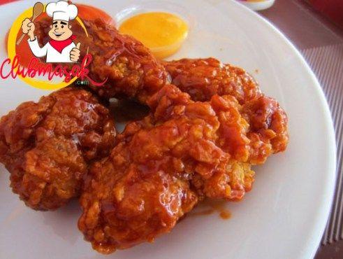Resep Dan Cara Membuat Fire Wings Ala Recheese Yang Pedas Lezat Dan Praktis Resep Fire Wings Resep Sayap Ayam Resep Ayam
