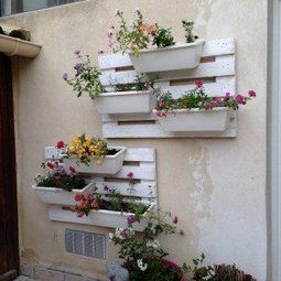 Floral wall | 1001 Pallets