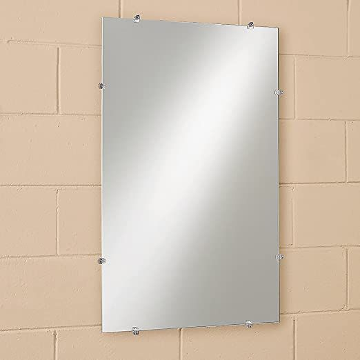 Amazon Com Frameless Glass Mirror 14 X 20 Industrial Scientific In 2020 Frameless Mirror Glass Mirror Home Decor Mirrors