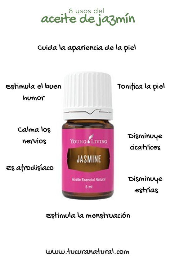 usos del aceite esencial de jazmin